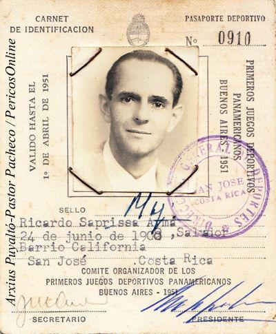 Ricardo Saprissa, una vida de leyenda 1