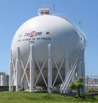 Ticovisi N Costa Rica Recope Licita 4 Esferas Para Gas