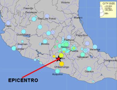 Sismorichter on Fuerte Sismo De 6 7 En Guerrero  M  Xico  Cerca A Acapulco